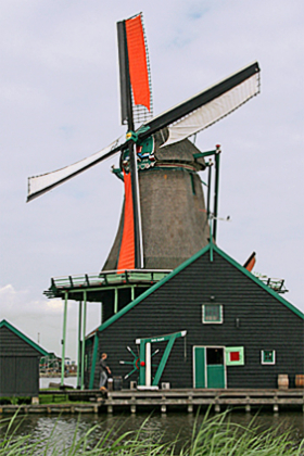 Charmed by the Windmills of Kinderdijk