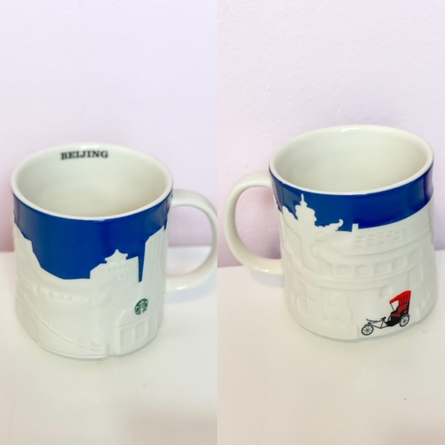 Starbucks Beijing city mug.