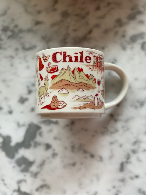 "Starbucks ""Been There"" series mug, Chile."