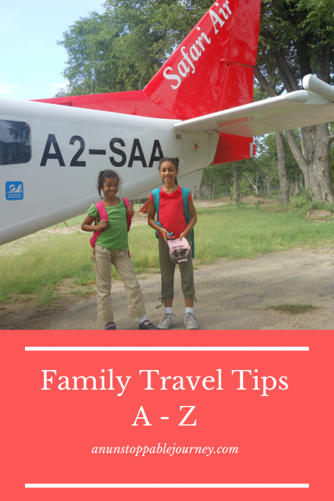 Family travel tips from A to Z. Photo credit: Monique White