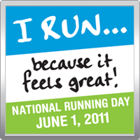 Today is National Running Day!
