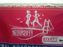 Running around Istanbul