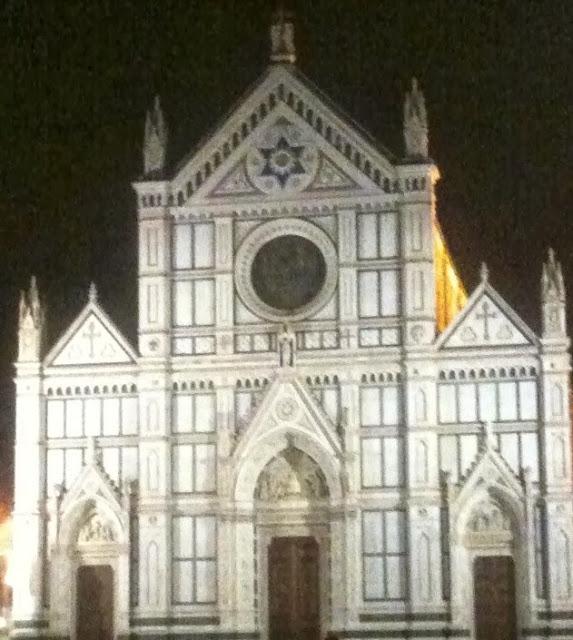 Santa Croce at Night - Florence