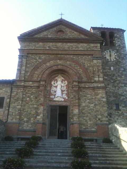 Santa Maria Assunta, Chianti Italy