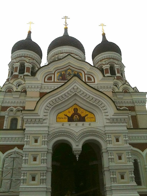 The Russian Orthodox church, Alexander Nevsky Cathedral in Talllinn