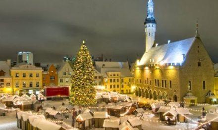 Exploring Tallinn in Winter