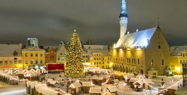 Exploring Tallinn in Winter