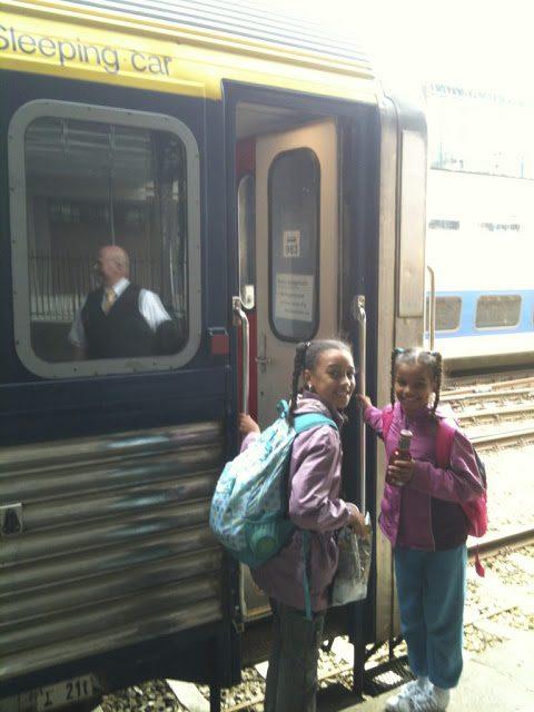 Taking the Auto Train to Italy