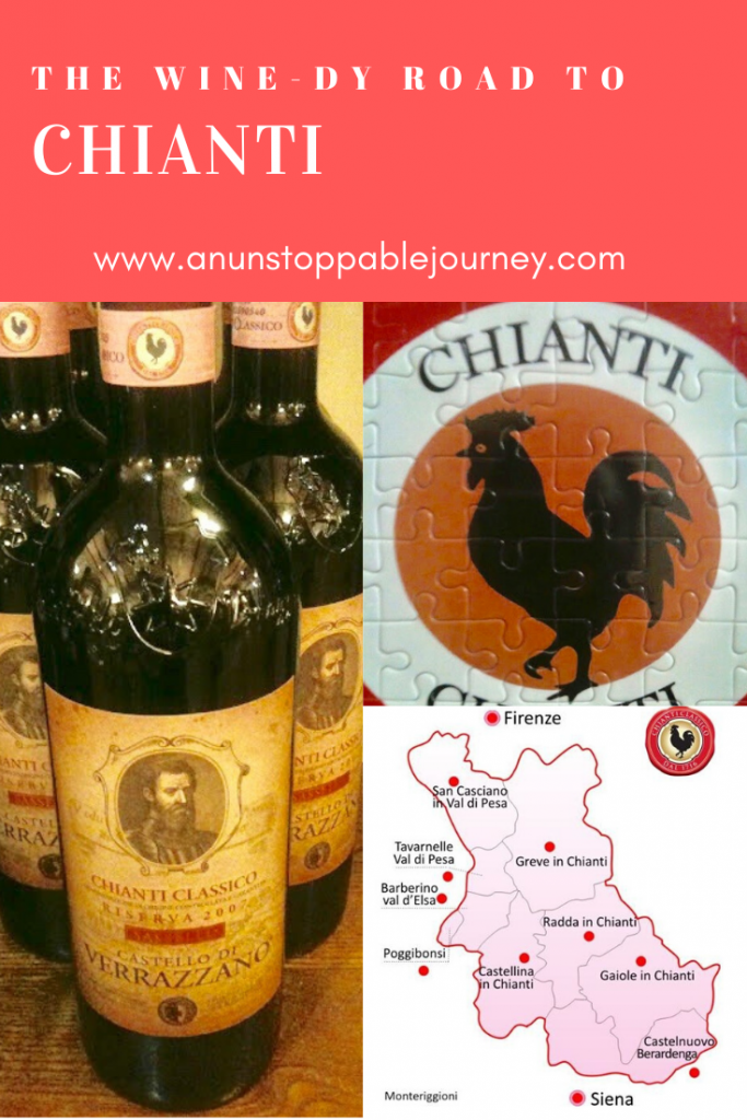 The twists and turns of SS222 will leave your head spinning and stomach churning, but it is a small price to pay for what you find along this stretch of road: Tuscany's famous Chianti wine!
