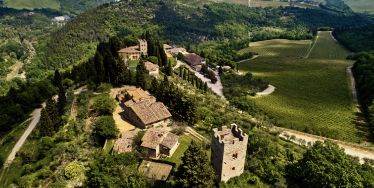 Castello di Verrazzano, the birthplace of Giovanni da Verrazzano, is a not-to-miss winery in Tuscany's wine region. Photo credit: Google