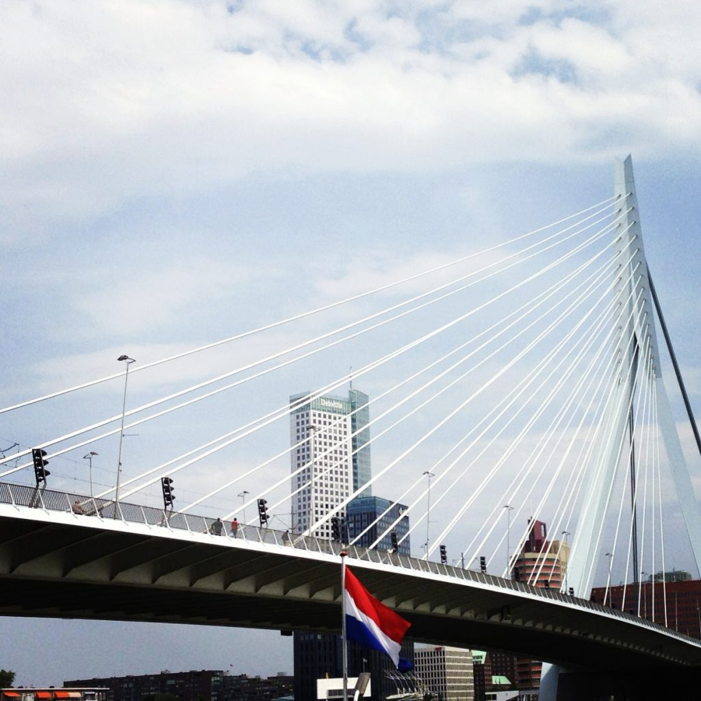 Erasmus Bridge - ©Monique White