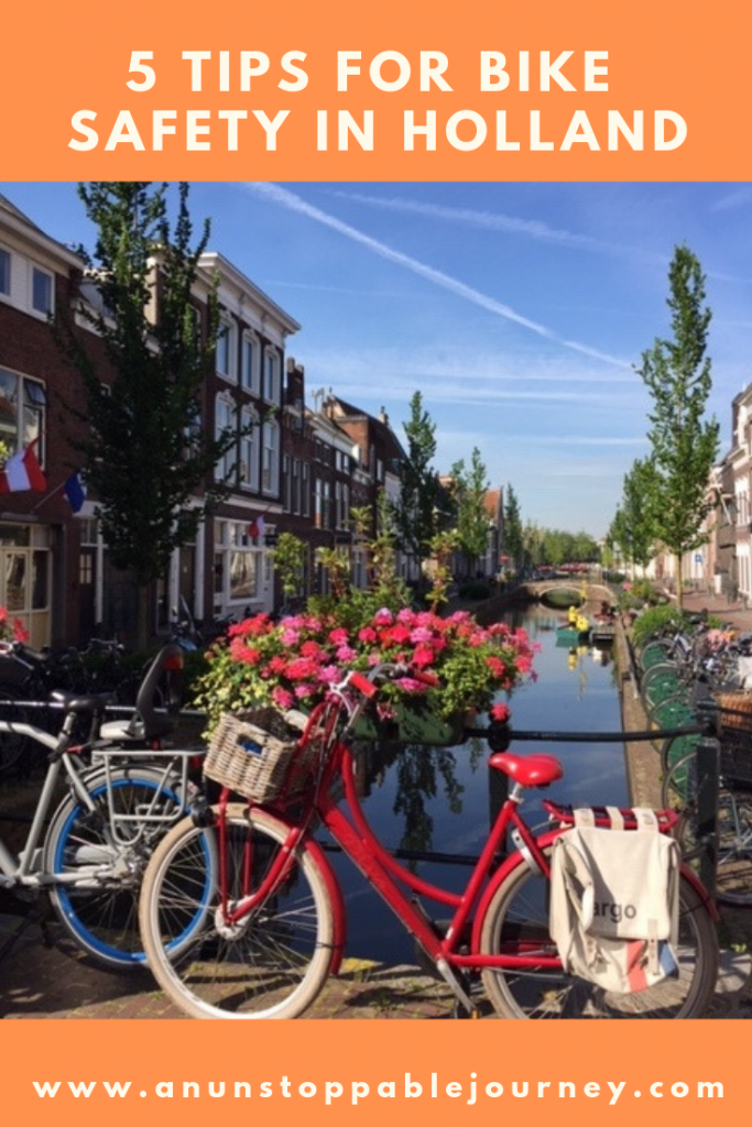 "When visiting Holland, ""go Dutch"" and get on a bike. But before you do, here are some safety rules to keep in mind to help you better enjoy your cycling experience."