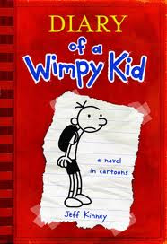 Jeff Kinney and a Diary of a Wimpy Loser