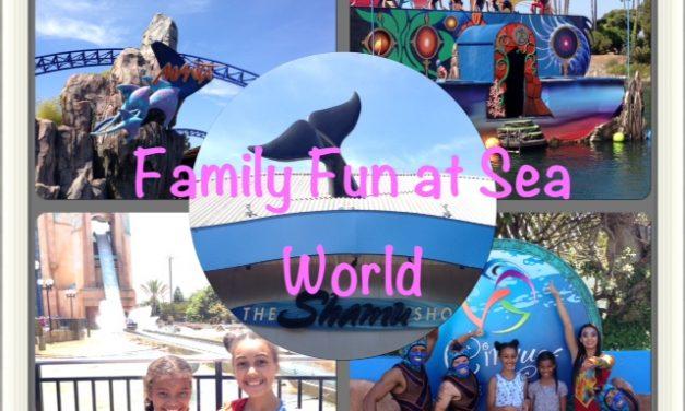 Family Fun at Sea World