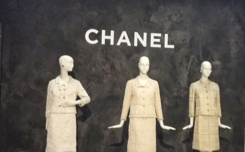 The iconic Chanel suit