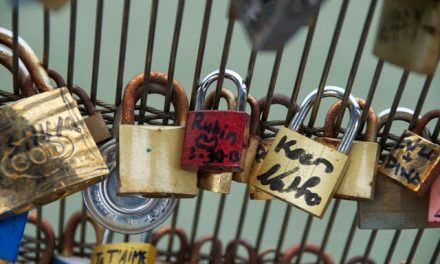 Locks of Love From Paris