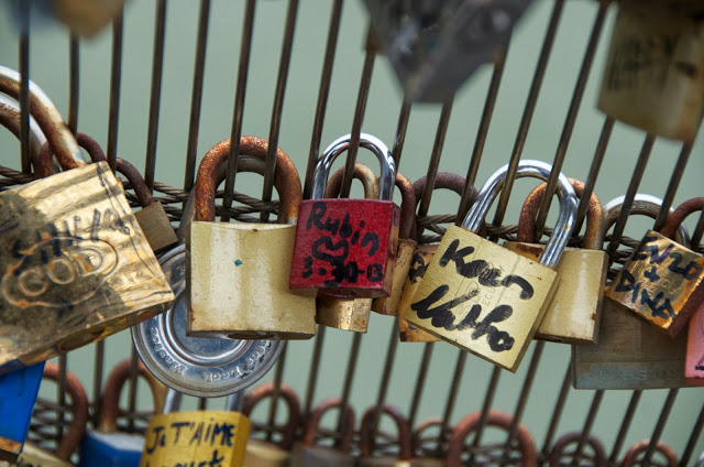 Locks of Love From Paris