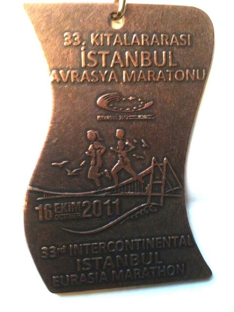 Istanbul Eurasia Marathon Medal