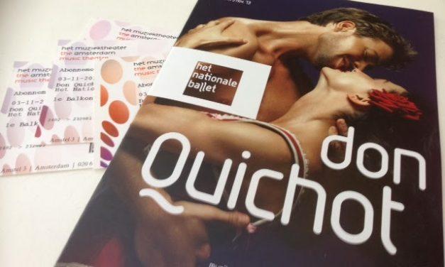 Het Nationale Ballet Performs Don Quixote