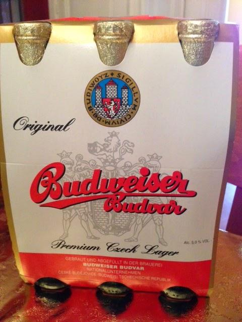 the original Budweiser from Český Krumlov