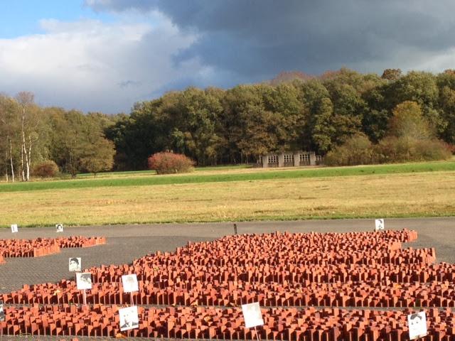 Herinneringscentrum Kamp Westerbork (Remembrance Center of Camp Westerbork) in the Netherlands