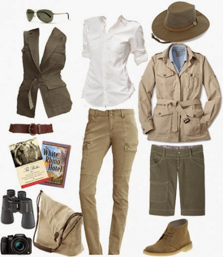 These neutral-colored pieces are both stylish and practical.