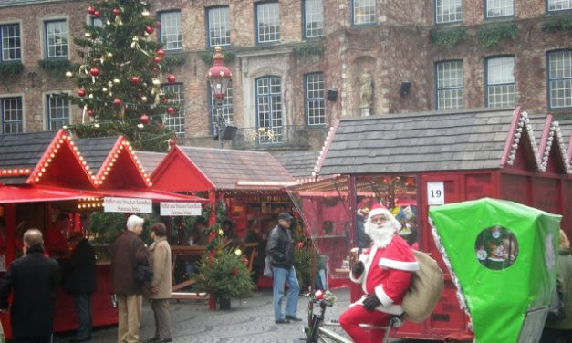 12 Days of Christmas Markets: Düsseldorf