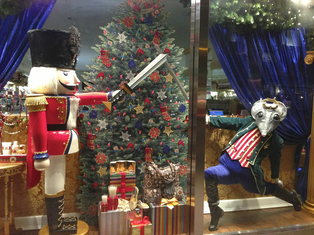 Holiday windows in NYC