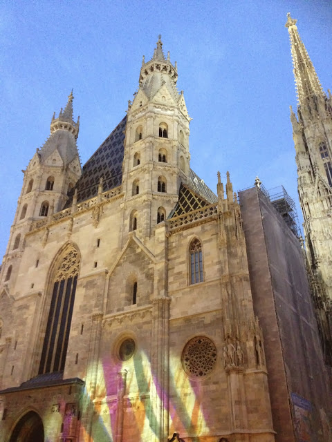 St. Stephan's Cathedral, Vienna.