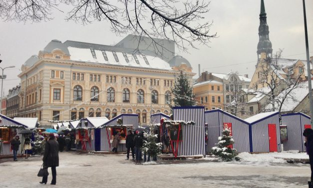 Christmas Markets and Winter Wandering in Riga