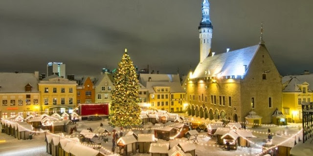12 Days of Christmas Markets: Tallinn