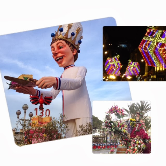 King of Carnaval de Nice and flower parade