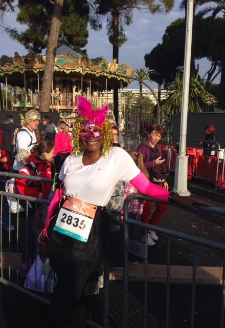 A costume is a must for the Rock 'n' Roll Nice 10 Miles du Carnaval