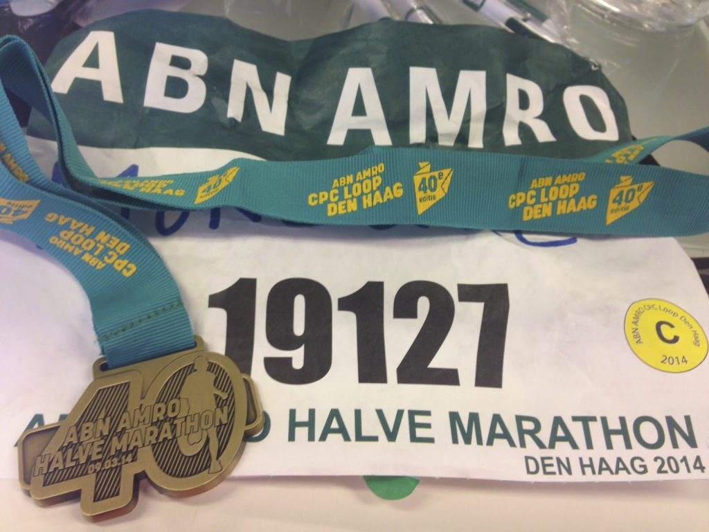 Race bib and 40th Anniversary medal for CPC Loop