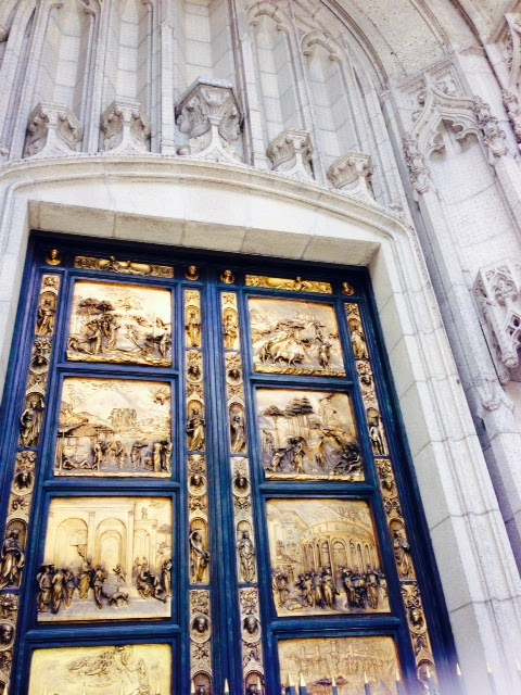 Ghilberti's Gates of Paradise, Grace Catherdral
