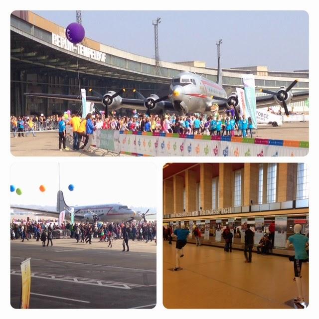 Race expo at Tempelhof Airport
