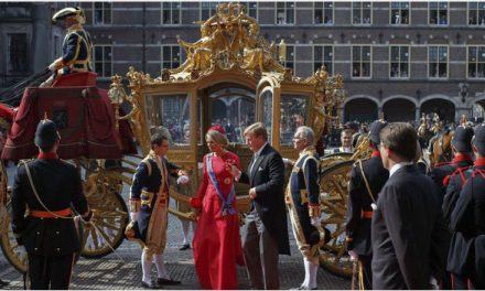 A Royal Procession Through The Hague*