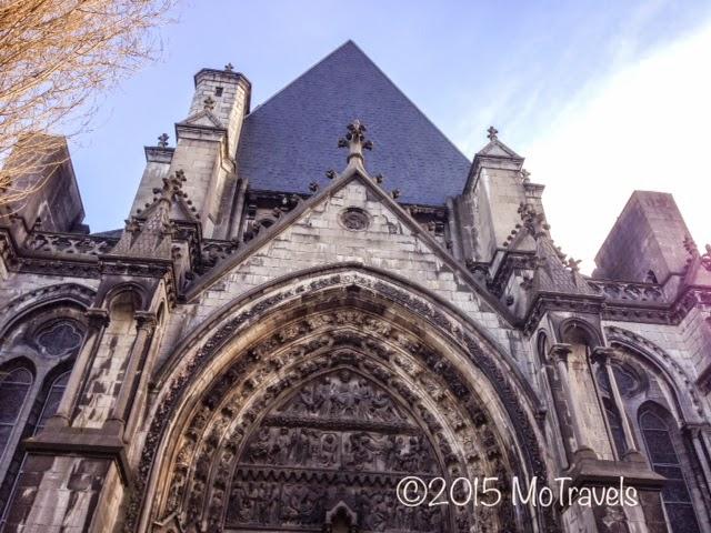 The Église Saint-Maurice