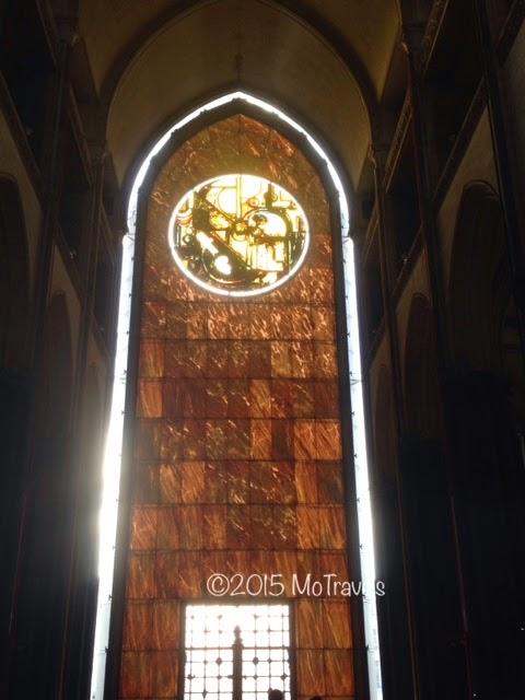 The bronze doorway of the Cathedral of Notre Dame de la Treille