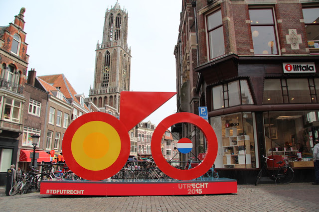 The Grand Depart of the famous cycling race, Le Tour de France is from Utrecht, The Netherlands.