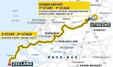 Le Grand Depart and Tour Through The Netherlands