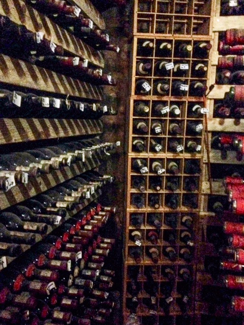 Backberg Winery's cellar