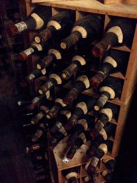 Backberg Winery's cellar