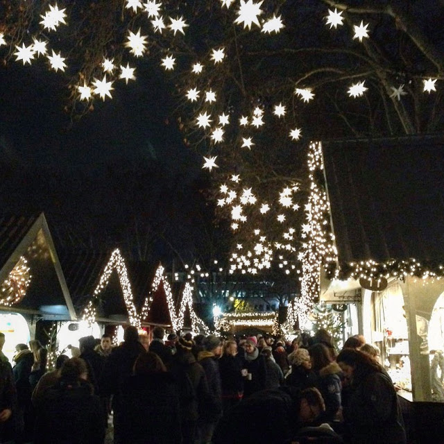 The magical Angel's Market at Neumarkt is Cologne's oldest Christmas market. Photo credit: Monique White