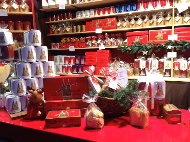 Delicious Kölner Dom treats to be found around Cologne's flagship Christmas market. Photo credit: Monique White