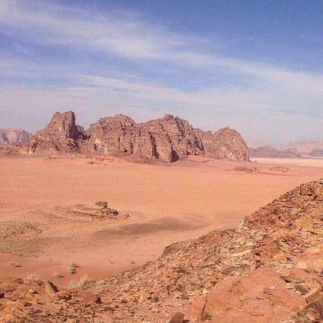 Family Fun in a 4×4:A Day in Wadi Rum