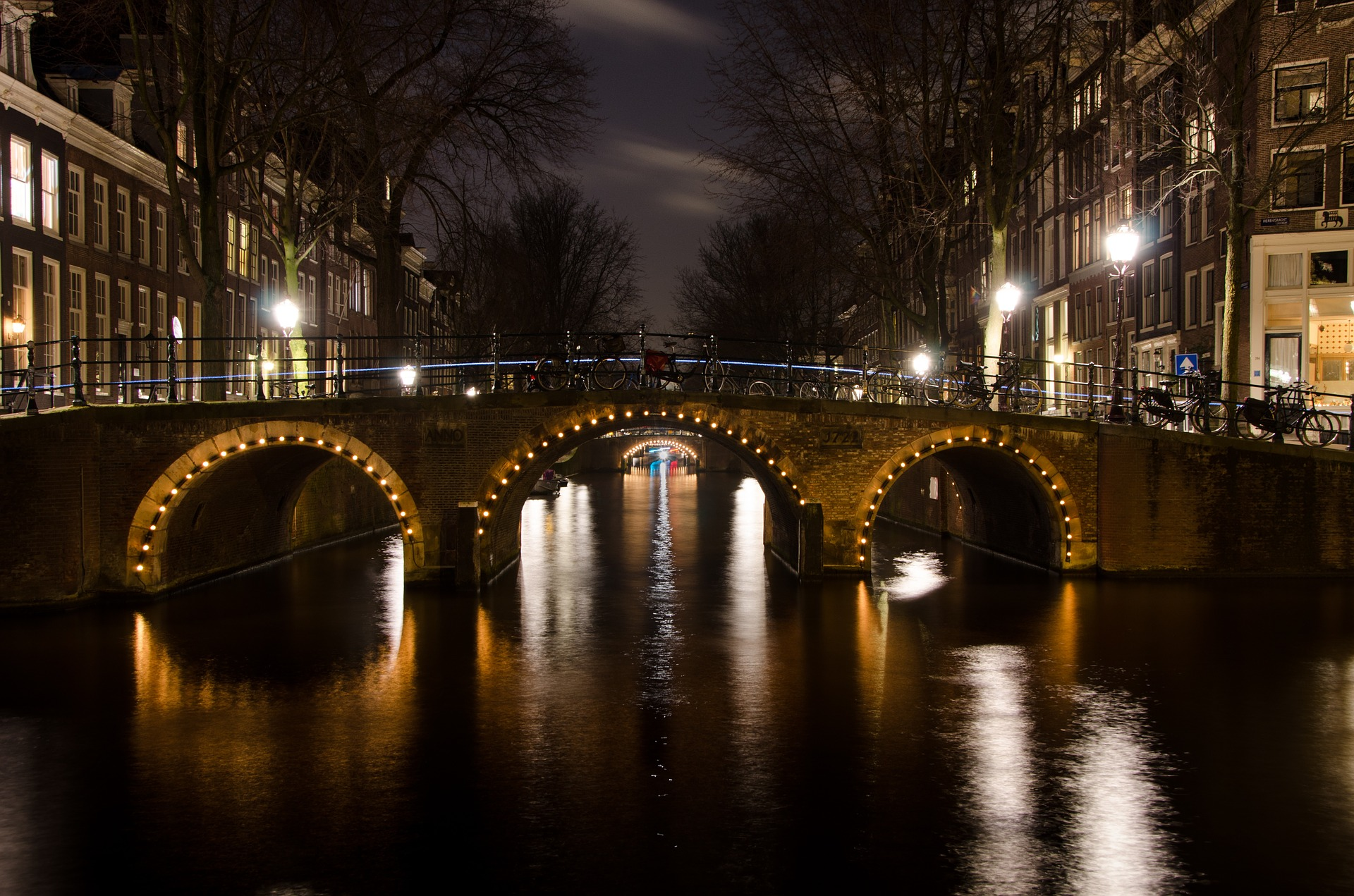 Take a romantic cruise along Amsterdam's UNESCO listed canals.