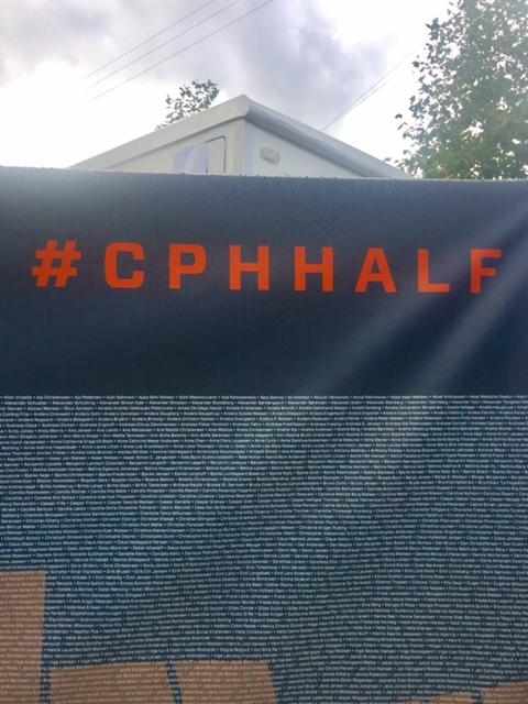 Copenhagen Half Marathon runners listed