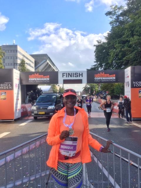 CPH half marathon finisher!