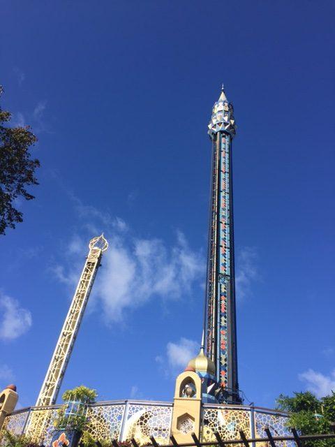 The towers of Tivoli Gardens